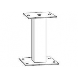 "18"" Galvanized Mounting Pedestal - FAAC 2411"