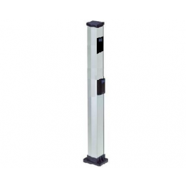 "Double 44"" Aluminum Mounting Post for Photocells - FAAC 401035/737630.5"