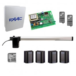 412 SX Swing Gate Operator Kit for Left Hinged Gates (14x16 Enclosure) - FAAC 412SX1S.5