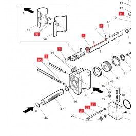Manual Release Rod for 760 - FAAC 4246385