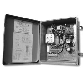 455D Control Board with 20x16 Metal Enclosure (230V) - FAAC 455D220A.5