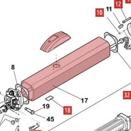 Operator Body (EG) for 400 - FAAC 7161835