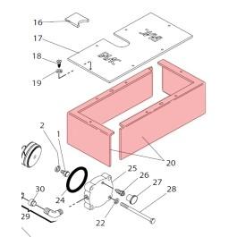 Half Box for 750 - FAAC 7223205