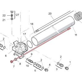 Tie Rod (Cylinder) (EG) - FAAC 7230305