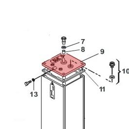 Upper Flange Pump Unit - FAAC 7270535
