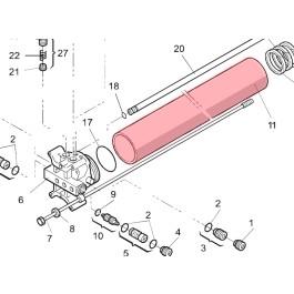 Cylinder (Long/EG) - FAAC 7366015