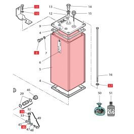 Body (Pump Housing) - FAAC 7450115