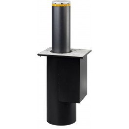 J200 SA 600 Semi-Automatic Retractable Bollard for Traffic Control in Stainless Steel - FAAC 116509