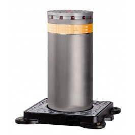 J275 HA 600 Automatic Retractable Traffic Bollard in Painted Steel - FAAC 116006