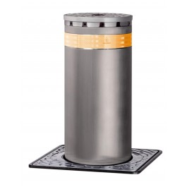 J275 F 800 Fixed Traffic Bollard in Stainless Steel - FAAC 116041