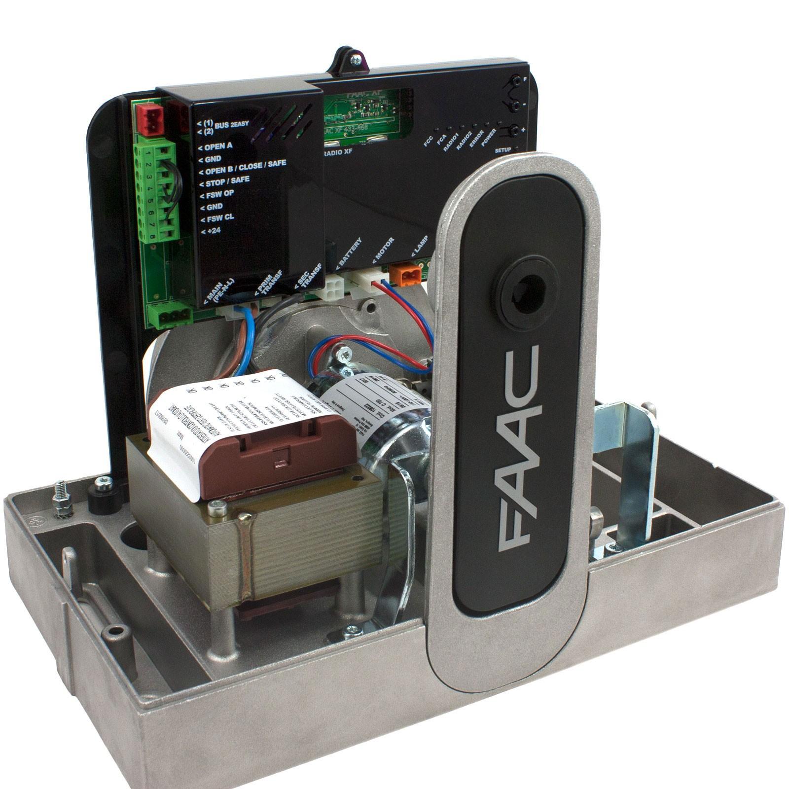 c720 low voltage slide gate operator faac 109322 fast. Black Bedroom Furniture Sets. Home Design Ideas