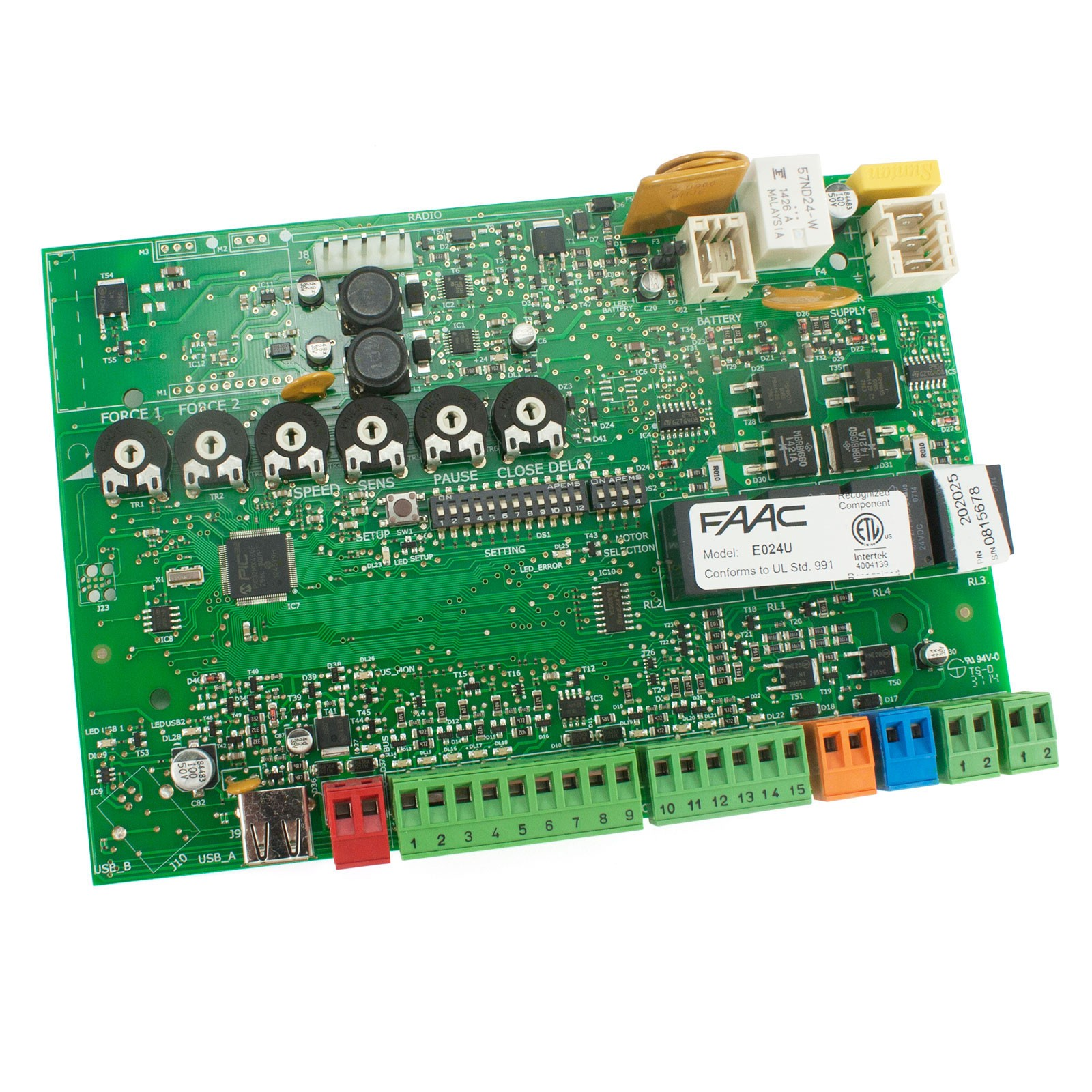 faac e024u control board e024u control board faac 202025 fast gate openers faac 770 wiring diagram at bayanpartner.co