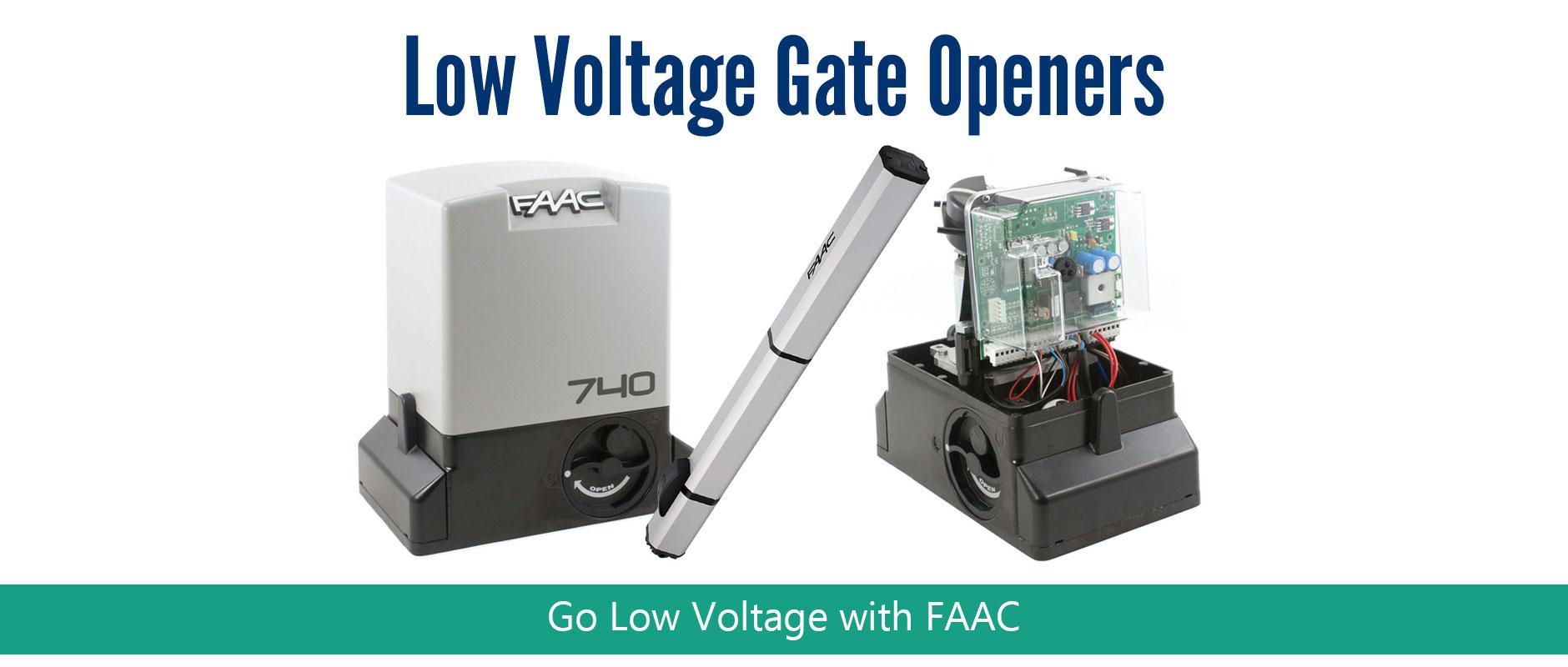 faac gate openers access controls fast gate openers. Black Bedroom Furniture Sets. Home Design Ideas